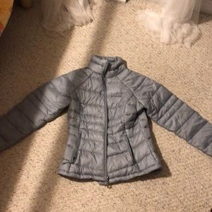 Columbia grey winter jacket